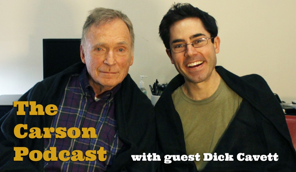 Mark Malkoff and Dick Cavett