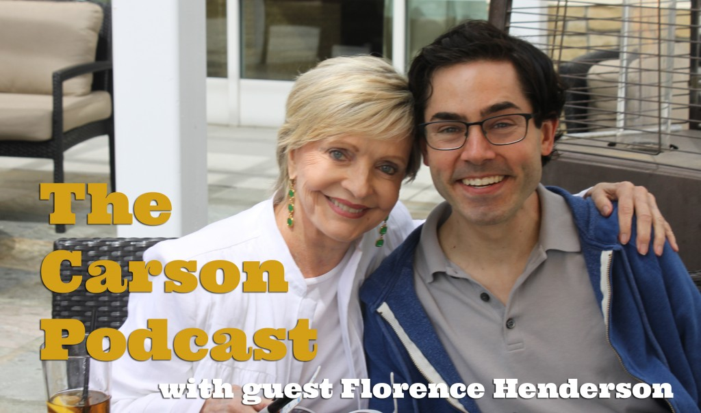 Florence Henderson and Mark Malkoff