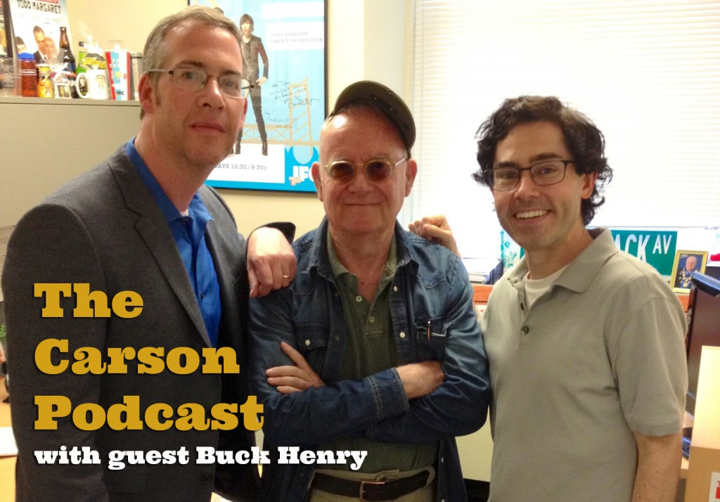 Dan Pasternack with Buck Henry and Mark Malkoff