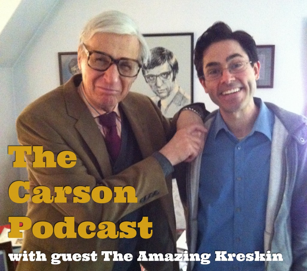 The Amazing Kreskin and Mark Malkoff