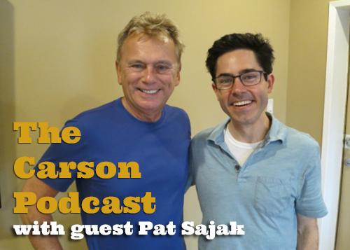 Pat Sajak and Mark Malkoff