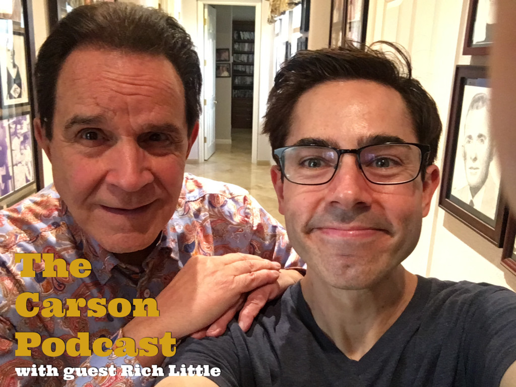Rich Little and Mark Malkoff